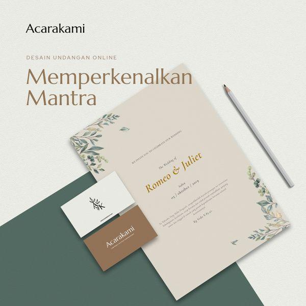 Undangan Online / Undangan Digital / Undangan Website - Desain Mantra