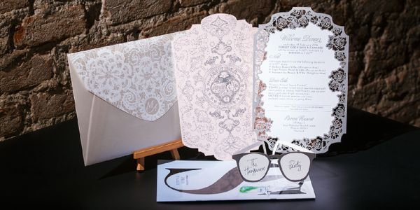 Custom Wedding Invitation - Anthony & Meng Jiang