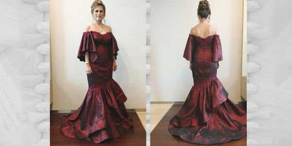 Single Rent Mom's Gown