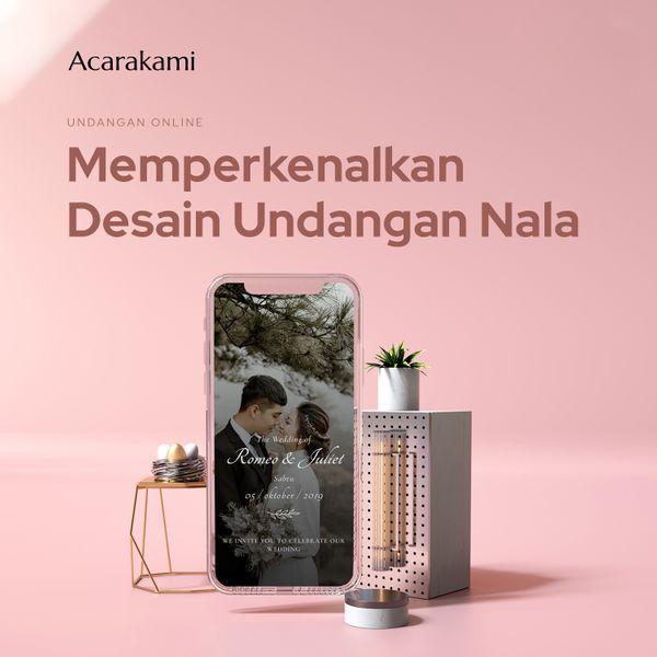 Undangan Online / Undangan Digital / Undangan Website - Desain Nala