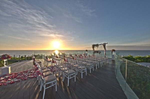 AYANA VILLA WEDDING - COMPLETE PACKAGE 100 GUESTS