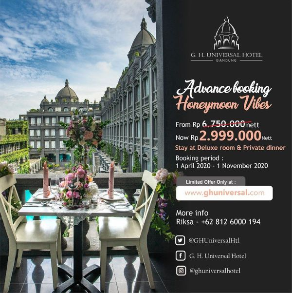 Advance Booking Honeymoon Vibes