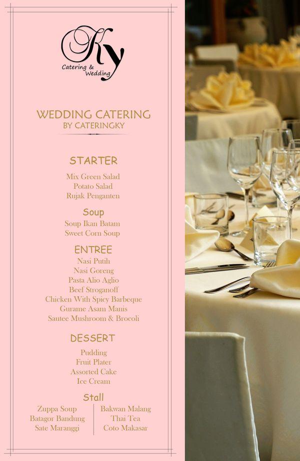 Platinum Catering Package