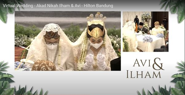 Livestreaming (virtual) Wedding