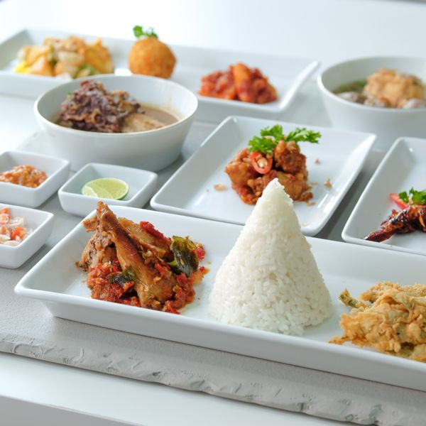 Table Served Indonesian Menu - 4 Course