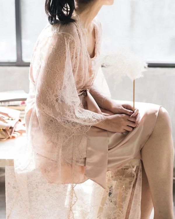 DYDX - French Lace Robe (90cm)