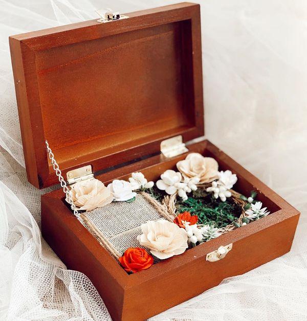 Ringbox Simple Wooden