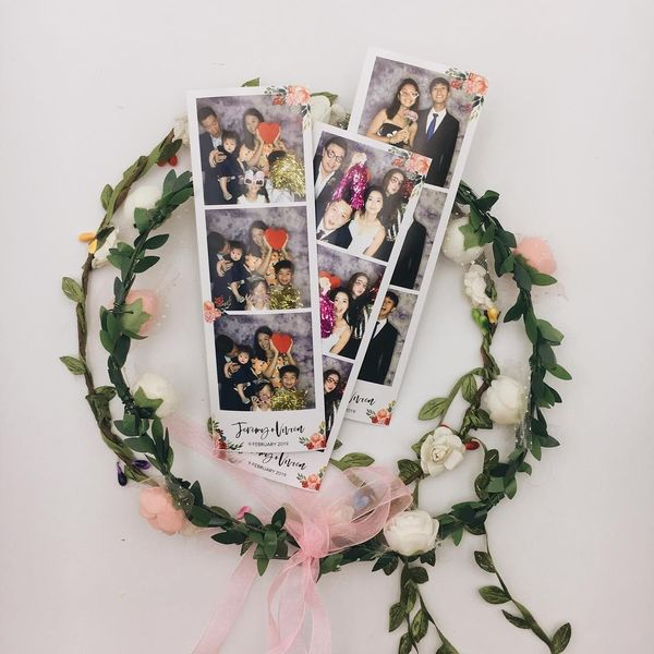 Aura GIF Booth with Photo Strip