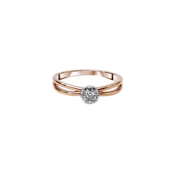 SIORAI Lily Ring 0218 232 Cincin Berlian Sz 4 - 15 (Pre Order)