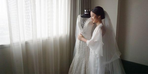 INTIMATE PROMO (New wedding gown + MUA)