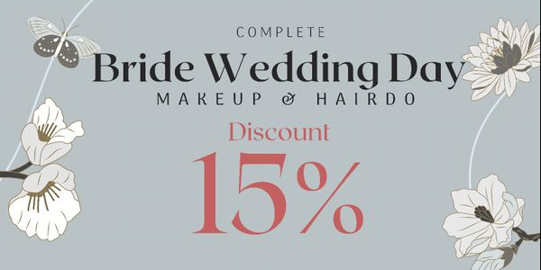 Complete Bride Wedding Day Makeup & Hairdo