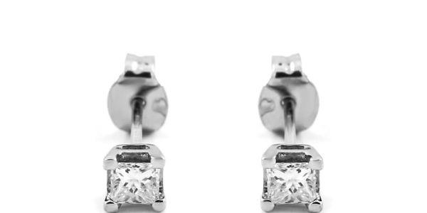 Anting Emas Berlian Wanita DE000110 V&Co Jewellery