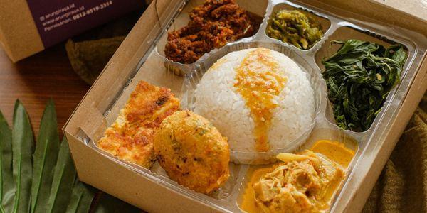 Nasi Kapau Sumatera