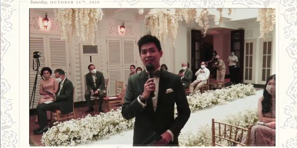 MC and Live Streaming New Normal Wedding By Anthony Stevven