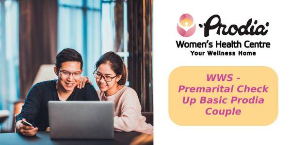 WWS - Premarital Check Up Basic Prodia - Couple