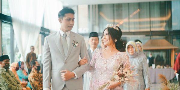 All-in-one Akad / Pemberkatan & Wedding Reception by Photolagi.id