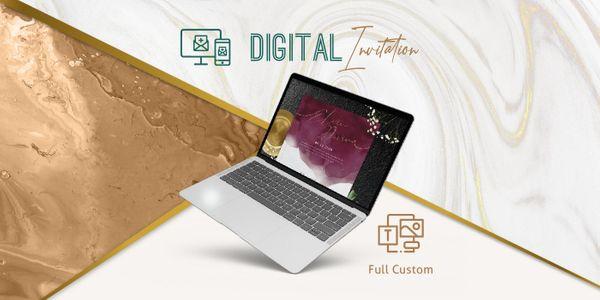 Full Custom Digital Invitation / Undangan Digital