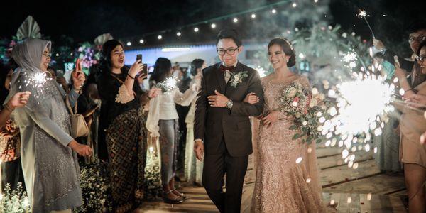 Intimate Wedding Organzier