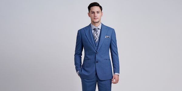 TORQUISE BLUE SUIT PACKAGE
