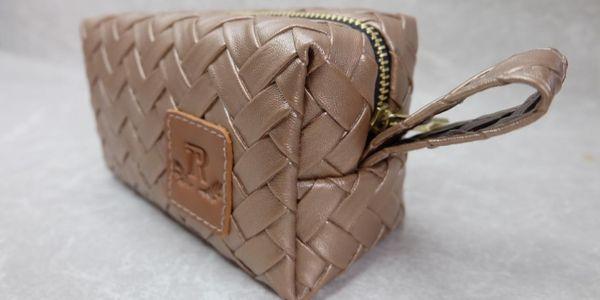 Bottega boxy pouch