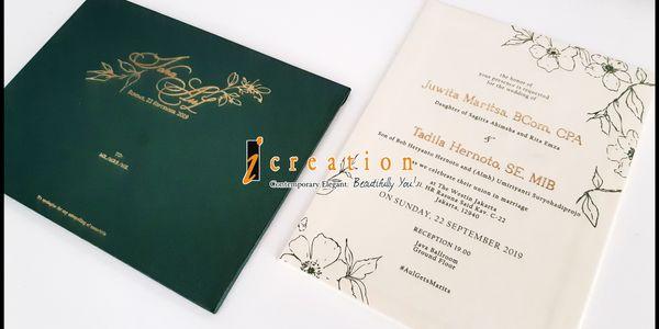 Simple Wedding Invitation 12