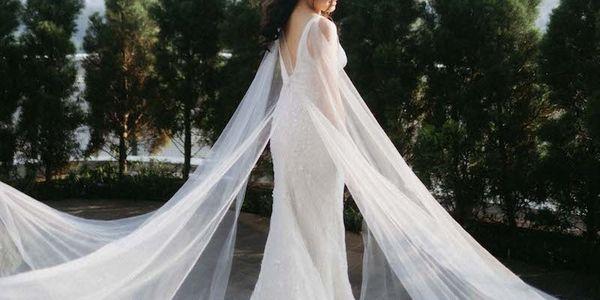 Romantic Wedding Dress Custom Rent