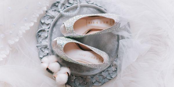 Incredible crystals - Jolie Moda wedding shoes