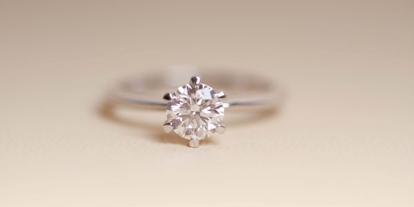 Solitaire Diamond Ring 0.3ct