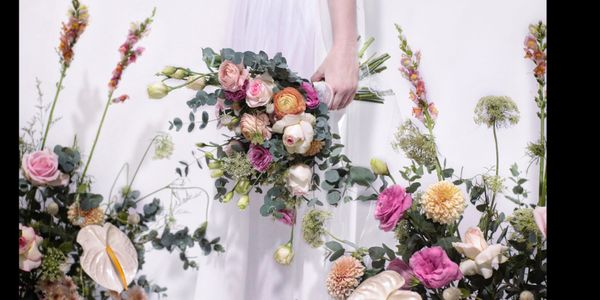 Persian Buttercup Hand Bouquet
