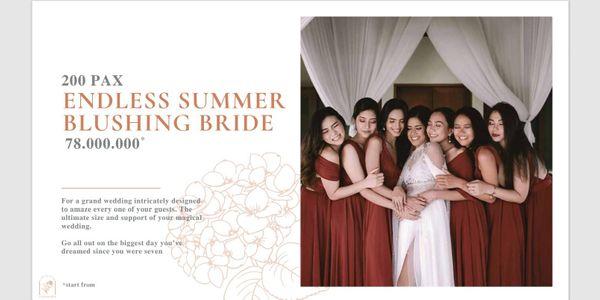 Catalina Wedding 200pax