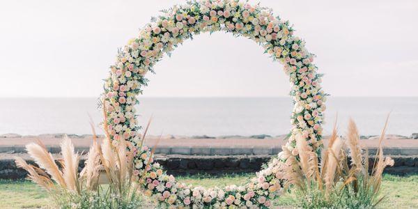 Wedding decoration package (ceremony & reception)