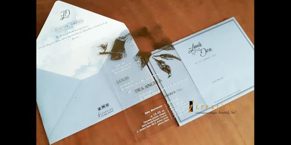 Wedding Invitation Medium Acrylic 2