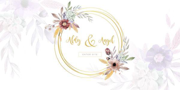 Beautiful Custom Wedding Website