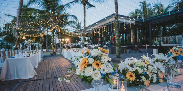 Wedding Dinner Reception - Set Menu (min. 50 pax)
