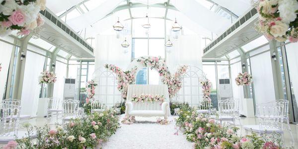 Intimate wedding holy matrimony/akad