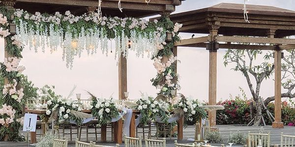 Wedding Decoration Package (akad/ceremony + reception)