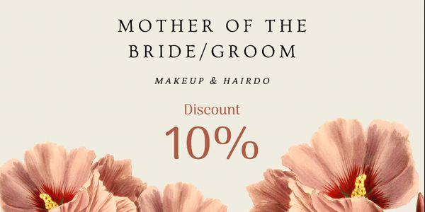 Mother of the Bride/Groom Makeup & Hairdo