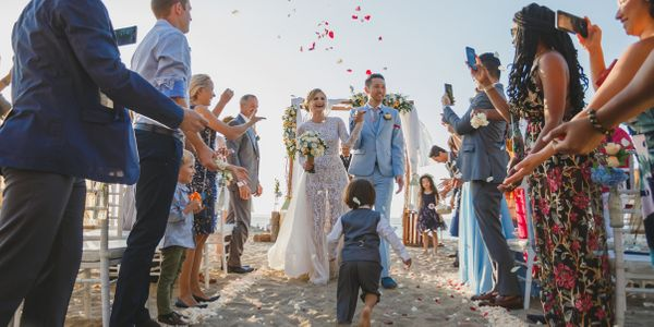 Beach Wedding at The ANVAYA Bali (40 persons)