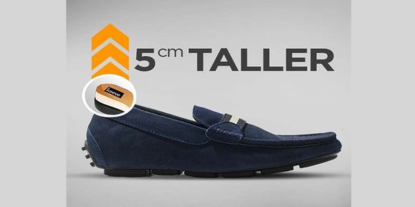 Keeve Height Increasing Shoes Loafers KBC-158