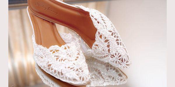 WEDDING SHOES/SEPATU PENGANTIN/BRIDAL SHOES BY REMIZY IVONNY