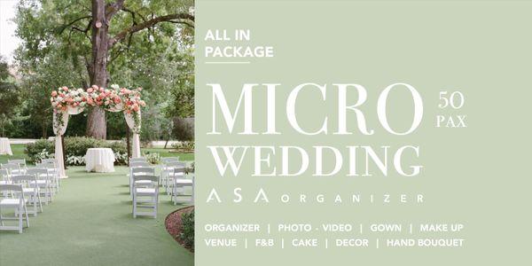 MICRO WEDDING / 50 PAX