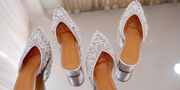 WEDDING SHOES/SEPATU PESTA/SEPATU WEDDING WANITA -CALAREL LEOWYNN- BY
