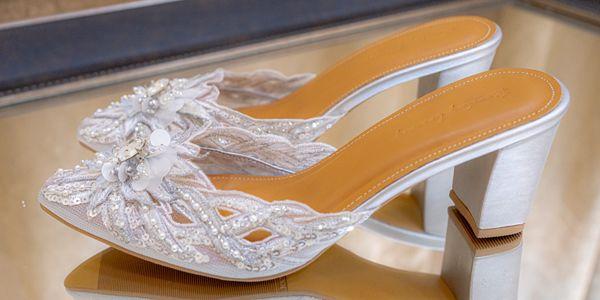WEDDING SHOES/SEPATU PESTA/SEPATU WEDDING WANITA -YAVANNA KERANCANG
