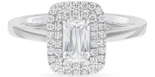 Passion Jewelry - Diamond Ladies Ring Ashoka CWF2147