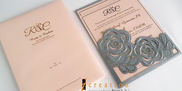 Spesial Package 22 - 50Pcs Laser Cut Pocket Invitation 2