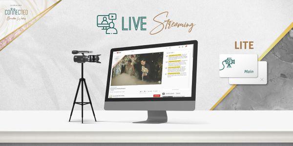 2 Sessions LITE Live Streaming 1 Cam for Matrimony & Reception
