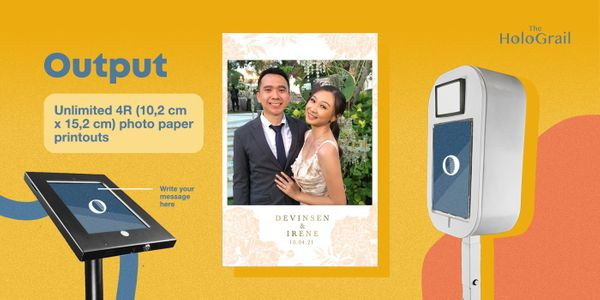 Greetings Photo Booth - 4 hours - Unlimited Prints