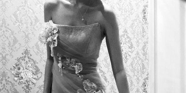 Evening Dress chantilly lace