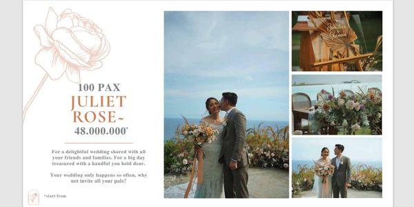 Catalina Intimate Wedding 100pax