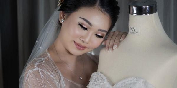 Wedding makeup by Agnes Ang